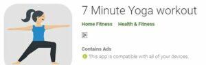 7 minute yoga