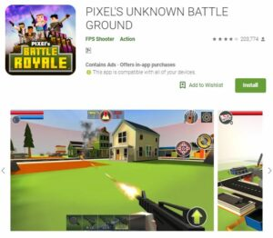 pixel unknown game